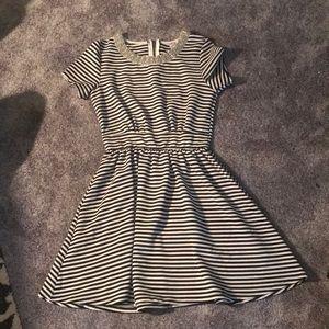 Francesca's striped dress